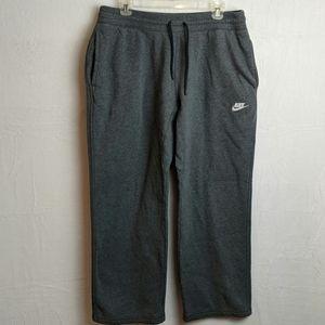 Nike men's sweatpants size XL Gray